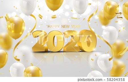 Happy New Year 58204358