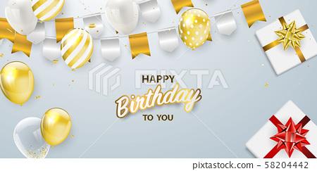 Happy Birthday Celebration 58204442