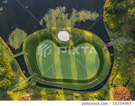 Golf course landscape 58204967