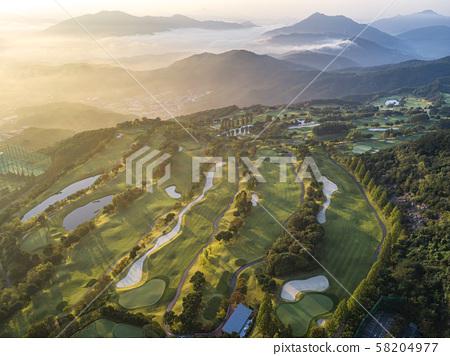 高爾夫球場景觀 58204977