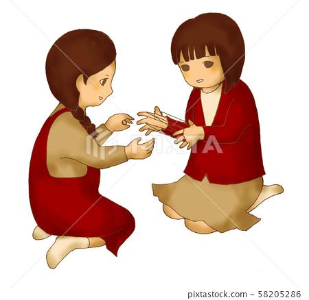 Ayatori children 58205286