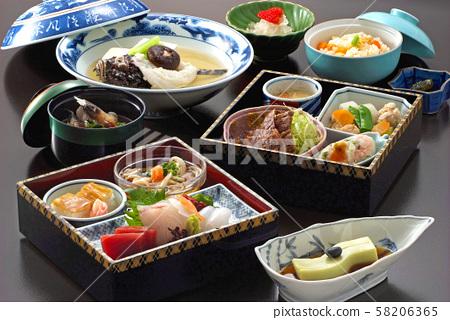 窩飯日本料理生魚片肉ko子日式套餐魚食美食晚餐重 58206365