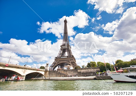 Cruise on the Paris Seine River 58207129