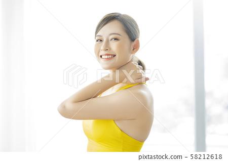 여성 스포츠 건강 58212618
