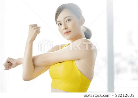 여성 스포츠 건강 58212635