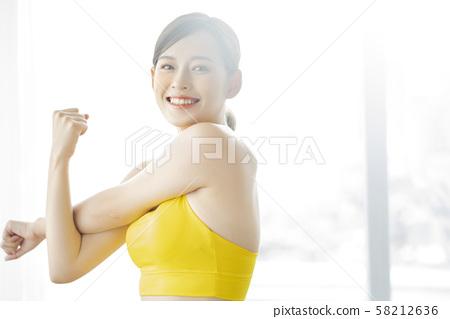 여성 스포츠 건강 58212636