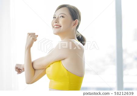 여성 스포츠 건강 58212639
