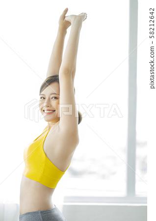 여성 스포츠 건강 58212642
