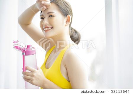 여성 스포츠 건강 58212644