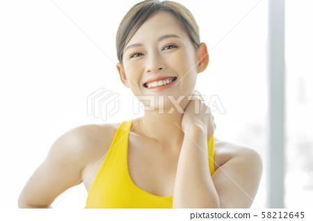 女性運動健康 58212645