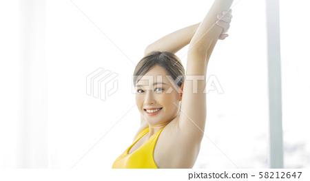 여성 스포츠 건강 58212647