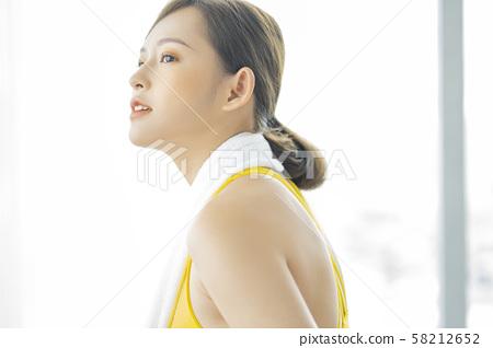 여성 스포츠 건강 58212652