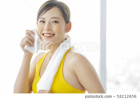女性運動健康 58212656
