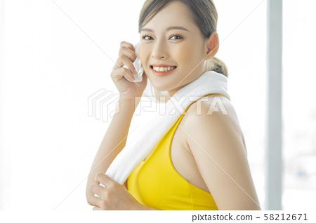 女性運動健康 58212671