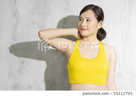 여성 스포츠 건강 58212705
