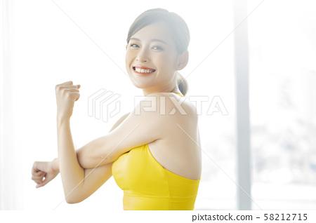 여성 스포츠 건강 58212715