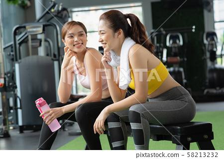 女性運動健康 58213232