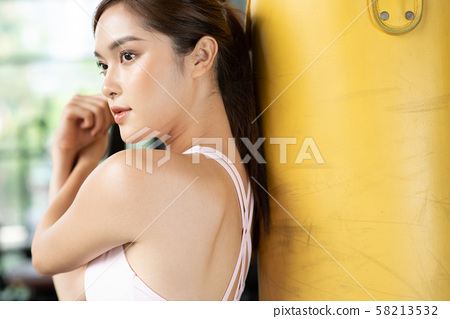 여성 스포츠 권투 58213532
