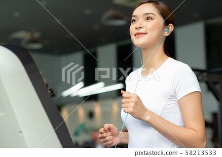 여성 스포츠 건강 58213533