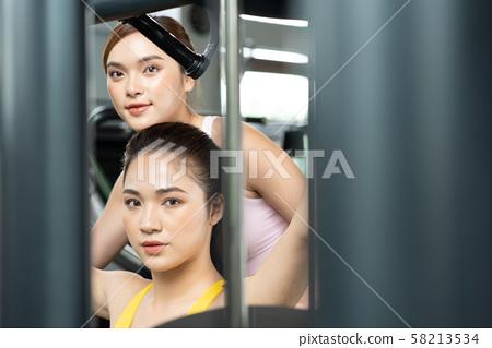 여성 스포츠 건강 58213534