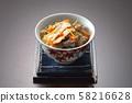 Shochu rice, cooked rice, autumn taste rice, matsutake mushroom, luxurious cooked rice, Japanese cuisine, Japanese cuisine 58216628