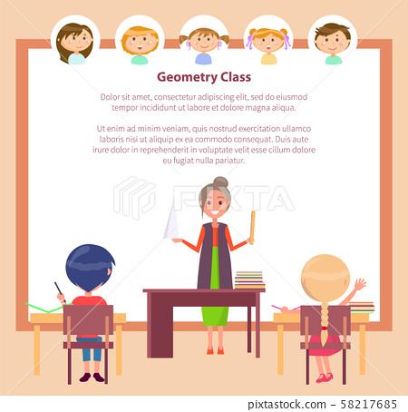 Geometry Class, School Education, Subject Teacher 58217685