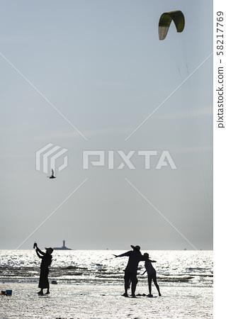 바닷가 풍경 58217769