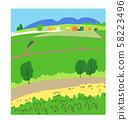 Paddy field 58223496
