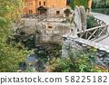 bridge in the Radomyshl castle 58225182