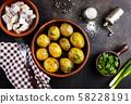 baked potato 58228191
