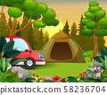 Summer vacation on the nature landscape 58236704