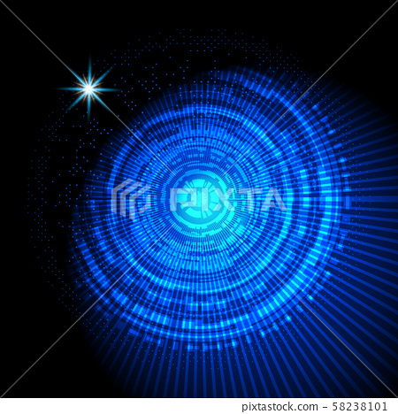 Abstract hud technology background design 58238101
