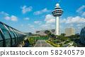 Singapore Changi International Airport Control Tower 58240579