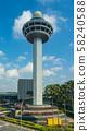 Singapore Changi International Airport Control Tower 58240588