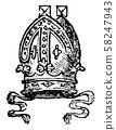 Mitre are worn by Roman Catholic archbishops, 58247943