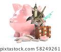 Travel, tourism, planning budget  58249261