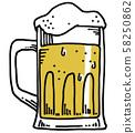 啤酒/杯子 58250862