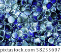 Abstract bubble background illustra 58255697
