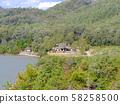 Hyogo Prefectural Arima Fuji Park, thatched-down private house (season of harvest) / Mita City, Hyogo Prefecture 58258500