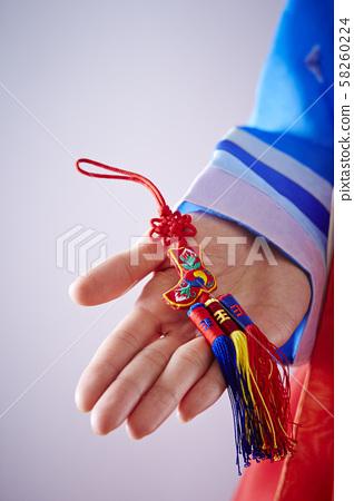 스트랩 한국의 전통 공예품 58260224