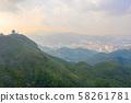 the Mountain of Kowloon Peak ,hong kong 58261781