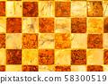 Texture of dirty ceramic tile floor 58300519