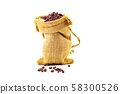 Red Beans In a sack 58300526