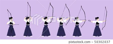 Kyudo movement 58302837