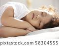 兒童生活方式午睡 58304555