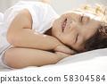 兒童生活方式午睡 58304584