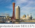 The streets of Kobe 58311371