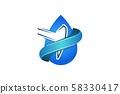 oil drop, mine tool, mining logo Designs 58330417