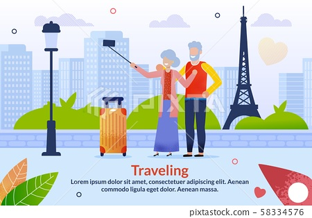 Journey to Europe for Aged Senior Couples Poster 58334576