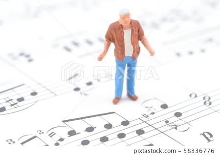 樂譜和人 58336776
